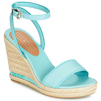 Schoenen Dames Sandalen / Open schoenen Tommy Hilfiger ELENA 78C Blauw / Ciel
