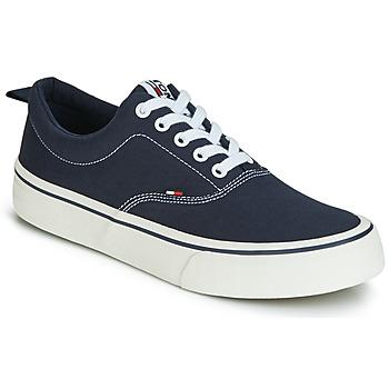 Schoenen Heren Lage sneakers Tommy Jeans VIRGIL 1D Zwart