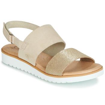 Schoenen Dames Sandalen / Open schoenen Casual Attitude JALAYEPE Beige / Irisé