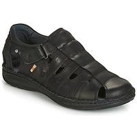 Schoenen Heren Sandalen / Open schoenen Casual Attitude JALAYIME Zwart
