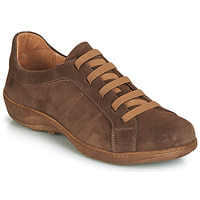Schoenen Heren Derby Casual Attitude JALIYAFE Brown