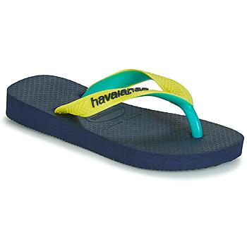 Schoenen Slippers Havaianas TOP MIX Geel