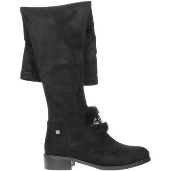 Schoenen Dames Lieslaarzen Braccialini TA107 Black