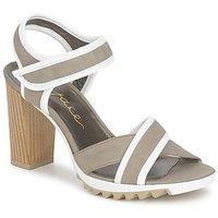 Schoenen Dames Sandalen / Open schoenen Espace GENIEVRE Grijs / Wit