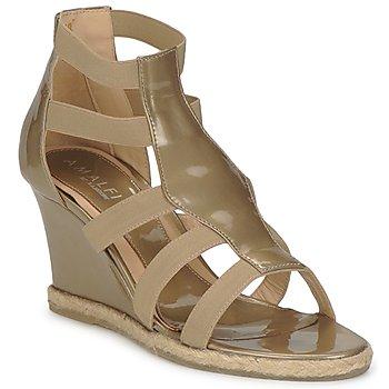Schoenen Dames Sandalen / Open schoenen Amalfi by Rangoni LEMA Vernice / Taupe