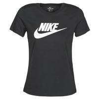 Textiel Dames T-shirts korte mouwen Nike NIKE SPORTSWEAR Zwart