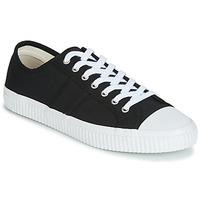 Schoenen Heren Lage sneakers Jim Rickey TROPHY Zwart / Wit