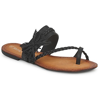Schoenen Dames Slippers Moony Mood LILIANA Zwart