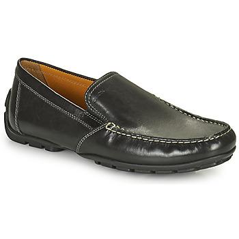 Schoenen Heren Mocassins Geox MONET Zwart