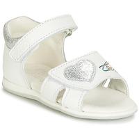 Schoenen Meisjes Sandalen / Open schoenen Citrouille et Compagnie JAFALGA Wit