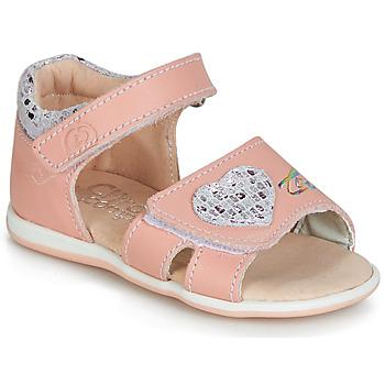 Schoenen Meisjes Sandalen / Open schoenen Citrouille et Compagnie JAFALGA Roze