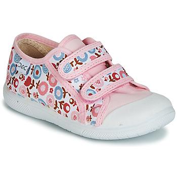 Schoenen Meisjes Lage sneakers Citrouille et Compagnie JORIPALE Roze / Rood