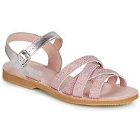 Schoenen Meisjes Sandalen / Open schoenen Citrouille et Compagnie JARDINA Roze