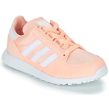 Schoenen Meisjes Lage sneakers adidas Originals OREGON Roze