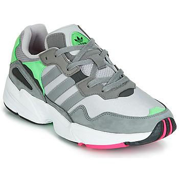 Schoenen Heren Lage sneakers adidas Originals YUNG 96 Grijs / Groen