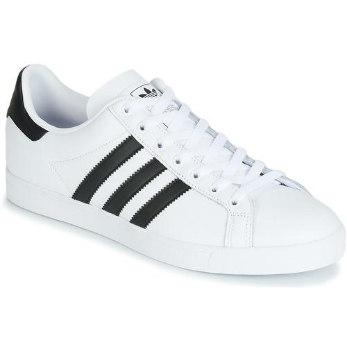 d4f467ad2a2 adidas Originals COAST STAR Wit / Zwart - Gratis levering | Spartoo ...