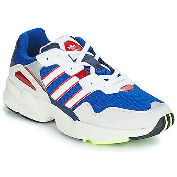 Schoenen Heren Lage sneakers adidas Originals YUNG 96 Wit / Violet