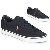 Schoenen Heren Lage sneakers Polo Ralph Lauren SAYER Marine