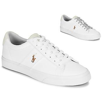 Schoenen Heren Lage sneakers Polo Ralph Lauren SAYER Wit