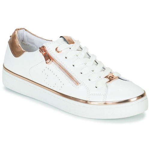 Schoenen Dames Lage sneakers Tom Tailor 6992603-WHITE Wit
