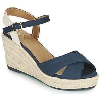 Schoenen Dames Sandalen / Open schoenen Tom Tailor 6990101-NAVY Marine