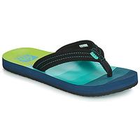 Schoenen Jongens Slippers Reef KIDS AHI Blauw / Groen