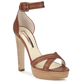 Schoenen Dames Sandalen / Open schoenen Rupert Sanderson KOOMELA Brown