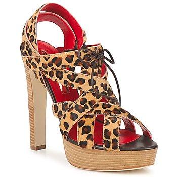 Schoenen Dames Sandalen / Open schoenen Rupert Sanderson BRISE Leopard