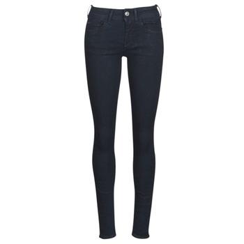 Textiel Dames Skinny Jeans G-Star Raw LYNN D-MID SUPER SKINNY Blauw / Rinsed