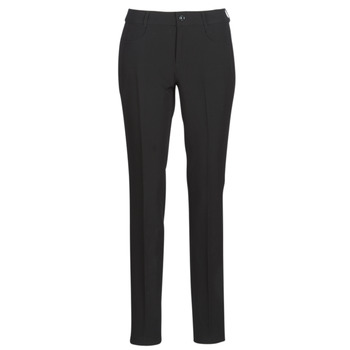 Textiel Dames Chino's G-Star Raw D-STAQ MID SKINNY ANKLE CHINO Zwart