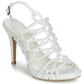 Schoenen Dames Sandalen / Open schoenen Menbur CLEMENTINA Ivory