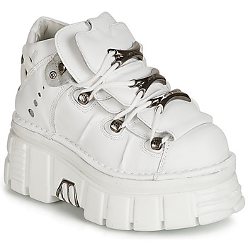 Schoenen Dames Laarzen New Rock ROCKY Wit