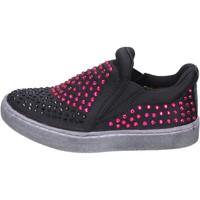 Schoenen Meisjes Instappers Lulu Baskets BT332 Noir