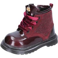 Schoenen Meisjes Hoge laarzen Lulu Bottines BT356 Violet