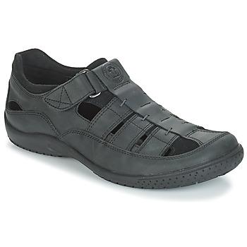 Schoenen Heren Sandalen / Open schoenen Panama Jack MERIDIAN Zwart