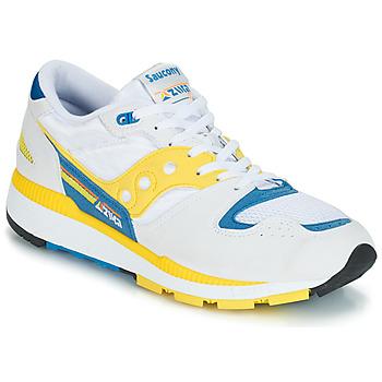 Schoenen Heren Lage sneakers Saucony Azura Wit / Geel / Blauw