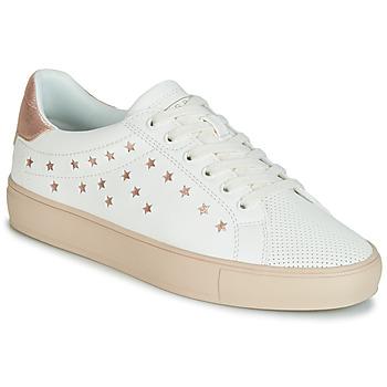 Schoenen Dames Lage sneakers Esprit Colette Star LU Wit / Roze / Gold