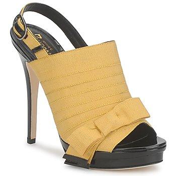Schoenen Dames Sandalen / Open schoenen Jerome C. Rousseau ROXY Geel / Zwart