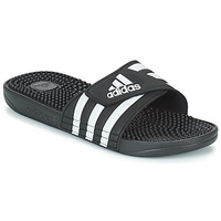 Schoenen Slippers adidas Performance ADISSAGE Zwart / Wit