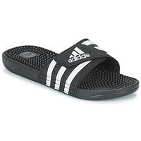 Schoenen Slippers adidas Originals ADISSAGE Zwart / Wit