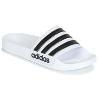 Schoenen Slippers adidas Performance ADILETTE SHOWER Wit / Zwart