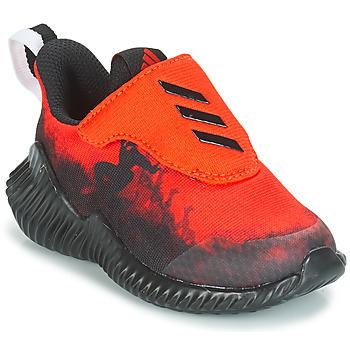 Schoenen Jongens Running / trail adidas Performance FORTARUN SPIDER-MAN Rood / Zwart
