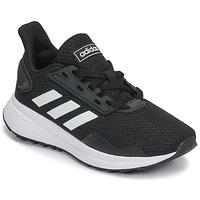 Schoenen Kinderen Running / trail adidas Performance DURAMO 9 K Zwart / Wit