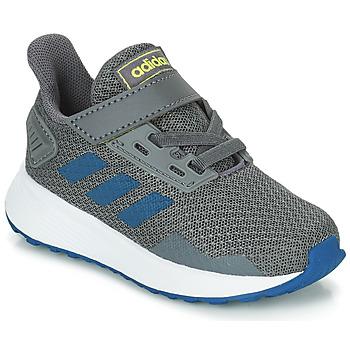 Schoenen Jongens Running / trail adidas Performance DURAMO 9 I Grijs