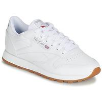 Schoenen Dames Lage sneakers Reebok Classic CL LTHR Wit