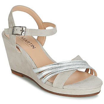 Schoenen Dames Sandalen / Open schoenen JB Martin QUOLIDAYS Grijs