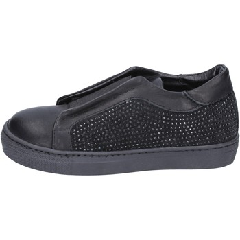 Schoenen Meisjes Instappers Holalà Baskets BT374 Noir