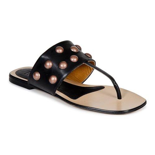 Schoenen Dames Slippers Keyté DELLIA Zwart