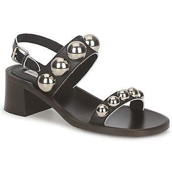 Schoenen Dames Sandalen / Open schoenen Marc Jacobs MJ18184 Zwart