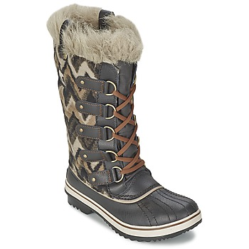 Schoenen Dames Snowboots Sorel TOFINO Grijs